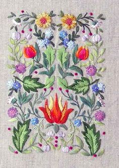 Herbier medieval kit – French Needlework Kits, Cross Stitch, Embroidery, Sophie Digard – The French Needle