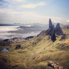 Old Man of Storr in Skye, Highland