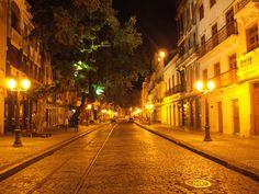 * Recife, Pernambuco. Brasil * Bairro do 'Recife Antigo'. Rua do Bom Jesus.