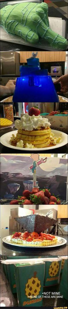 Steven universe foods!! WANT