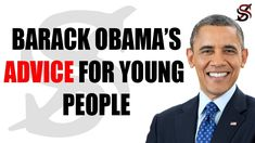 Barack Obama's Advice for Young People Who Want to Be Successful Full Comedy, News Channels, Us Presidents, A Decade, Change My Life, Good Advice, Young People, Barack Obama, Other People