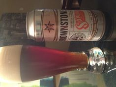 Going dancing with Mr. Brownstone via @sixpoint http://sixpoint.com/ - deep malty taste and a bitter hoppy finish - this brewery has built a solid collection