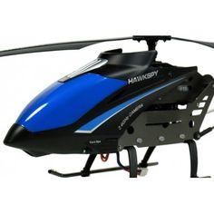 Zdalnie sterowany helikopter Hawk Spy XL z kamerą jak sama nazwa wskazuje może służyć do śledzenia, wbudowana kamera pozwala na rejestrowanie obrazu. Model ten wykonany jest z mocnego aluminium dzięki czemu jest wyjątkowo odporny na upadki. Opis, dane techniczne, komentarze oraz film Video znajdziesz na naszej stronie, nie ma jeszcze komentarzy, zostaw swój:)