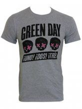 Green Day: Official Band Merch - Buy Online at Grindstore.com: UK No 1 for Rock Fashion and Merchandise