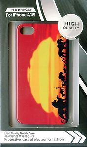 New Deluxe Hard Case cover for iphone 4 4S Disney Lion King Sunset in Africa | eBay