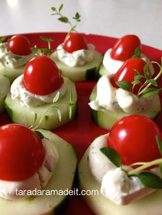 Healthy Appetizer - so good you'll leave with an empty plate and requests to make it again!