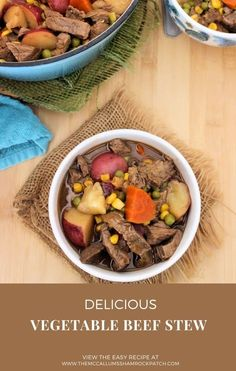 Vegetable Beef Stew is one of the most delicious, flavorful, hearty, and comforting foods that are budget-friendly and perfect for serving on chilly days for either lunch or dinner.