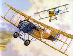 Fokker DVII vs Breguet XIX: - BFD