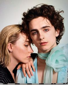 """More of Timothée Chalamet and Saoirse Ronan photographed by Collier Schorr for Entertainment Weekly"" Beautiful Boys, Pretty Boys, Beautiful People, Kreative Portraits, Films Cinema, Timmy T, Pretty People, Actors & Actresses, Ikon"