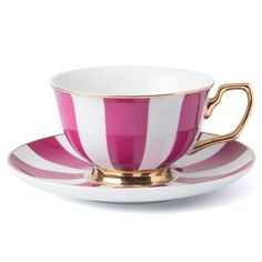 Cristina Re - Signature Stripe Berry Teacup
