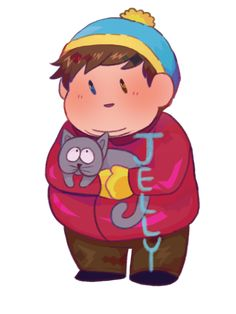 an anon told me I don't draw enough Cartman! so heres the boy! South Park Funny, South Park Anime, South Park Fanart, Trey Parker, Stan Marsh, Eric Cartman, Creek South Park, Love My Kids, Comedy Central