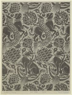 Textile With Animal Pattern, Century. Medieval Pattern, Medieval Art, Textile Patterns, Textile Prints, 14th Century Clothing, Art Chinois, Century Textiles, Fabric Stamping, Art Japonais