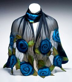 BLUE ROSES by andrealebeau on Etsy, $95.00