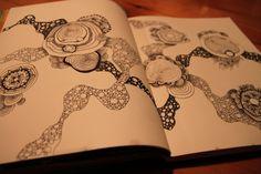 Zentangel art journal
