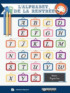 Un alphabet interactif allusif à la rentrée sur le blog http://leflealaune.blogspot.pt/2016/09/la-rentree-de-a-z-pour-te-preparer-pour.html