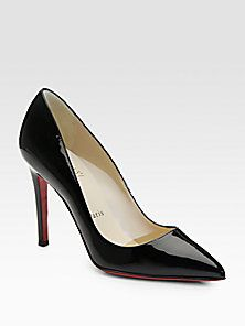 Christian Louboutin - Pigalle 100 Patent Leather Pumps