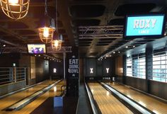 Roxy Lanes bowling alley Leeds for some after work fun!