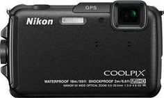 The COOLPIX AW110 Digital Camera is waterproof to 59' (18 m), shockproof to 6.6' (2 m) and freezeproof to 14° F (-10° C). Basically, it can go anywhere and come back with awesome images.