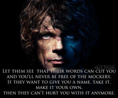 Words of Wisdom from Tyrion Lannister | TyrionLannister.net