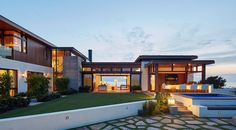 A New Home Of Concrete And Wood In Southern California | CONTEMPORIST » Architecture | Bloglovin'