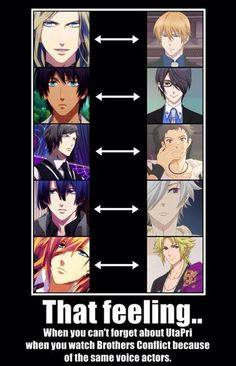 Brothers conflict and Uta. No prince sama