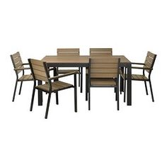 Polystyrene slats are weather-resistant and easy to care for. The furniture is both sturdy and lightweight as the frame is made of rustproof aluminum. You can make your chair more comfortable and personal by adding a chair pad in a style you like.