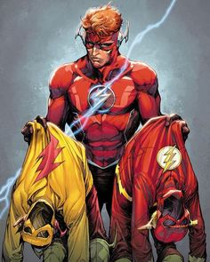 "DC Comics (@dccomicsunited) på Instagram: ""Flash War - Artwork by Howard Porter & Hi-Fi Color Comic - The Flash Annual #1 (Jan. 2018)"""