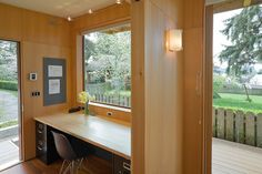 Office and Guest Studio - modern - Home Office - Seattle - Studio Hamlet Architects