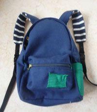 kids backpack pattern/tutorial