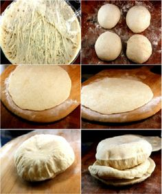 Baked Balloon Bread (Pita) It's not only cool, but soft, puffy and delicious! Also lots of recipes for Middle Eastern mezze (appies) Bread Bun, Pita Bread, Comida Armenia, Pan Comido, Bread Recipes, Cooking Recipes, Cooking Tips, Le Diner, Bread And Pastries