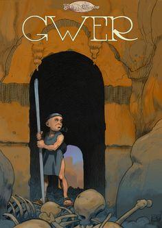 """Couverture de """"Gwer"""" par Gwenran"""