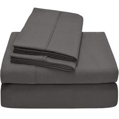 Mothers Lap King Size - 1 Piece Fitted Sheet - Hotel Luxury Bed Sheets - Extra Soft - 21 Inches Deep Pocket - Easy Fit - Breathable & Cooling - Dark Grey Solid Flat Sheets, Bed Sheets, Dark Blue Grey, Light Blue, Thing 1, Twin Sheet Sets, 100 Cotton Sheets, Twin Xl, Queen Size