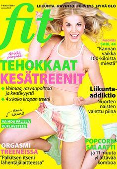 FIT 7-8/2015 Photo: Mika Pollari @mikexposed Model: Janni Hussi @jannihussi Make up & hair: Suvi Tiilikainen @suvitiilikainen
