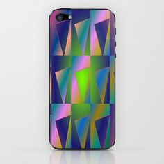 Rainbow triangle iPhone & iPod Skin by LoRo  Art & Pictures - $15.00