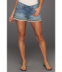 Lucky Brand Riley Short - Aztec Embroidery