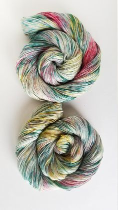 Secret Garden, hand painted, indie dyed yarn by HumbleAcresMichigan on Etsy