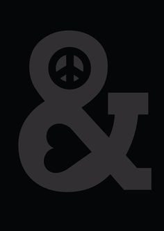 Poster | PEACE AND LOVE von Budi Kwan | more posters at http://moreposter.de