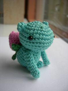 Ivysaur Amigurumi Crochet Doll!