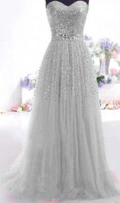 серое длинное выпускное платье блестка тюль вечеринки мяч официальный платья Size2.4 6 8 10 + + + + + in Одежда, обувь и аксессуары, Одежда для женщин, Платья | eBay