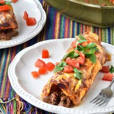 Shredded beef enciladas from Gonna Want Seconds!