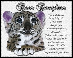 A lovely card from a mum to her daughter expressing her fierce love. Free online My Baby Cub ecards on Birthday Happy Birthday Penguin, Birthday Hug, Cute Happy Birthday, Birthday Wishes Funny, Birthday Songs, Birthday Fireworks, Baby Cubs, Beautiful Birthday Cards, Dear Daughter