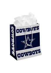 Dallas Cowboys Medium Navy Blue Gift Bag