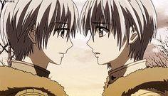 Vampire Knight's Zero and Ichiru