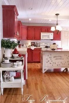 Kitchen cabinet make-over