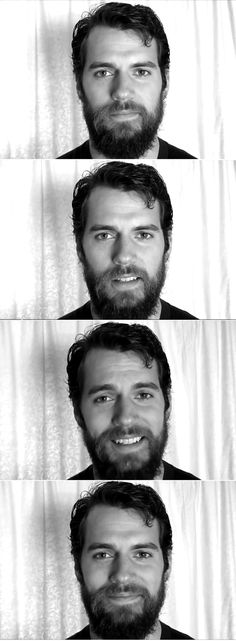 INSPIRATION for THE PATH CHOSEN... [Henry Cavill as] ADAM - of 1858; Pre-shave.