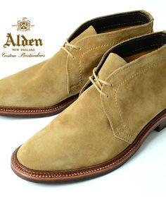 ALDEN Alden ★ 1494 UNLINED CHUKKA BOOT TAN SUEDE ★ chukka boots Tan suede