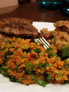Turkish Food and Recipes: Turkish Tabbouleh (Kısır) Read Recipe by himaninuman Turkish Recipes, Asian Recipes, Ethnic Recipes, Romanian Recipes, Scottish Recipes, Vegetarian Recipes, Cooking Recipes, Healthy Recipes, Savoury Recipes