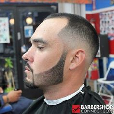 Skin fade with beard from Barbershopconnect.com