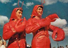 Lobster Ladies Lobster costumes