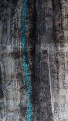 Historias cruzadas, arte para bufandas..... por OnA